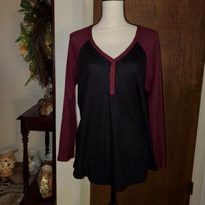 Torrid Long Sleeve Top sz 1